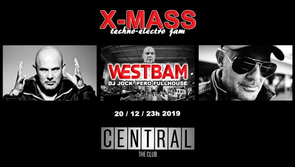 WestBam - X-Mass ElectroTechno Jam @ Central, Split
