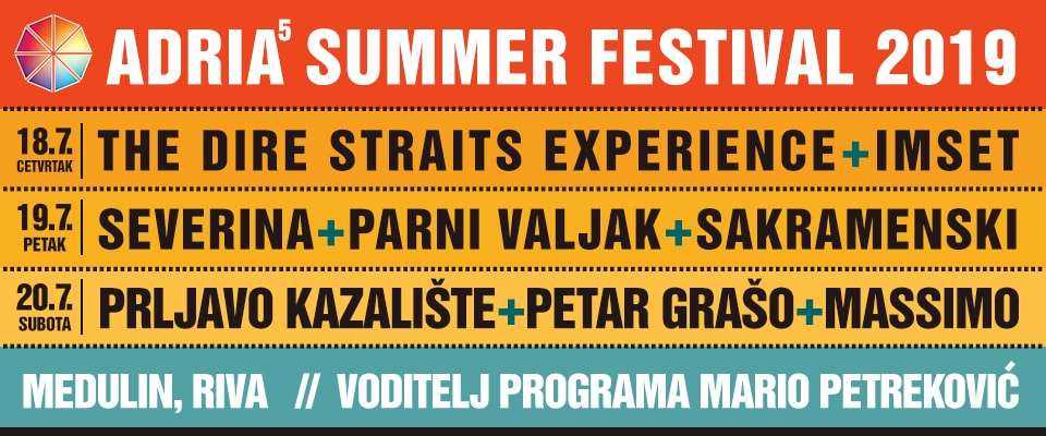 Adria Summer Festival 2019 daily ticket 18.07.